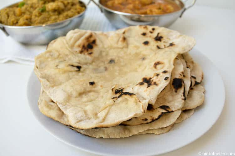 Authentic Restaurant Style Naan Bread