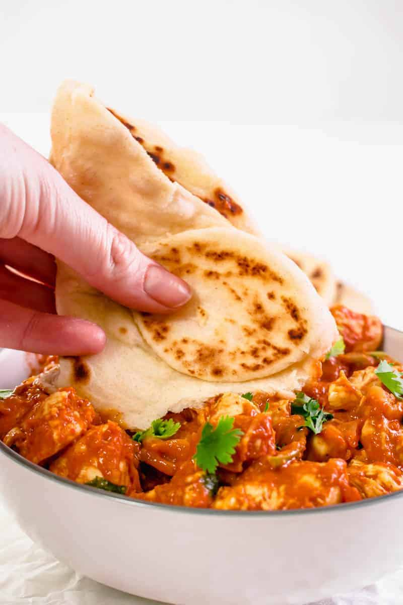 Naan bread recipe Restauraunt Style