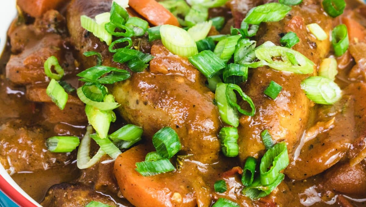 Caribbean Sausage Stew