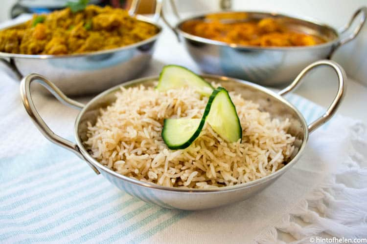 Parsi Rice | Hint of Helen