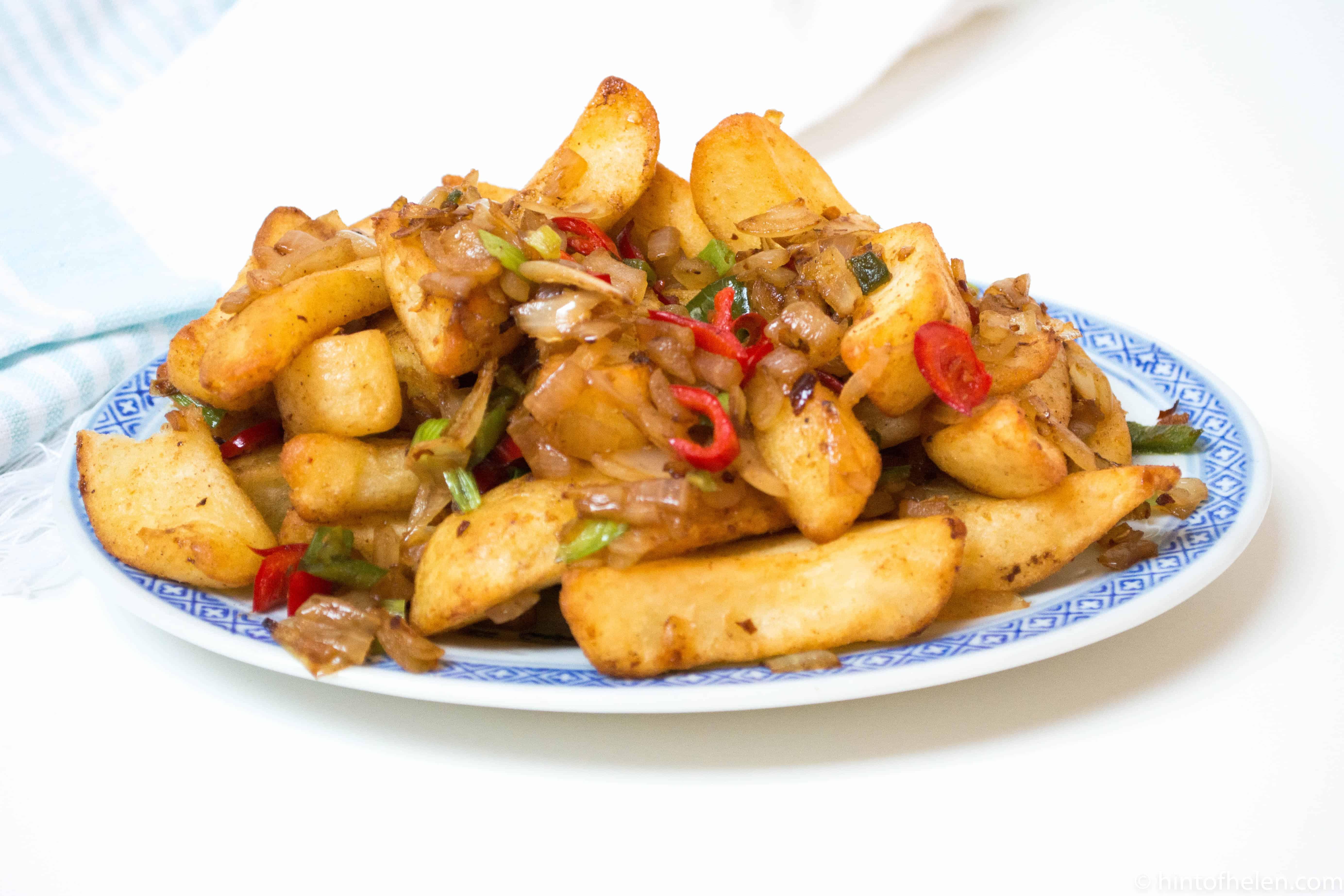 Salt & Pepper Chips | Hint of Helen | Recipe