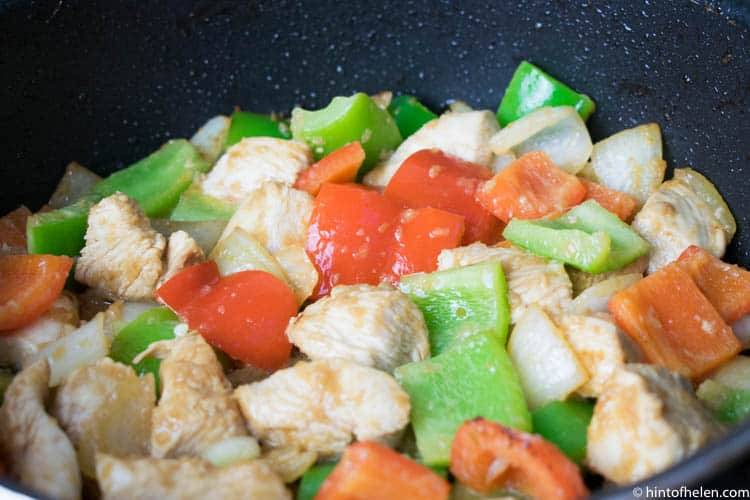 Sweet and sour chicken healthy recipe   hint of helen