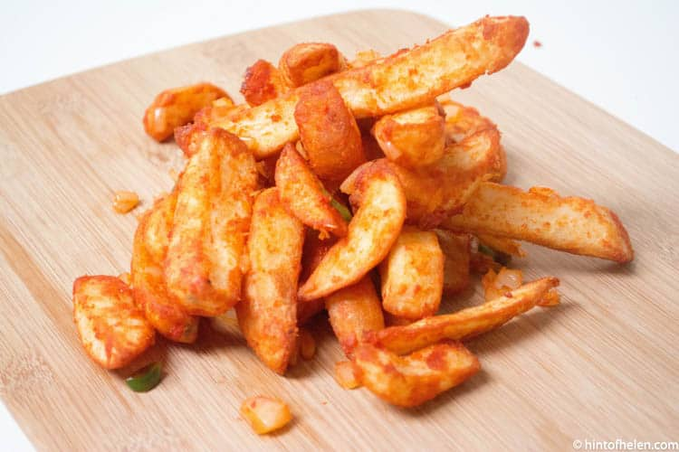 Jollof Chips / Fries