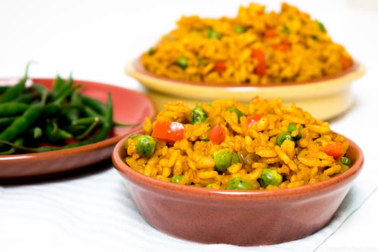 Nandos Spicy Rice Recipe | Hint of Helen