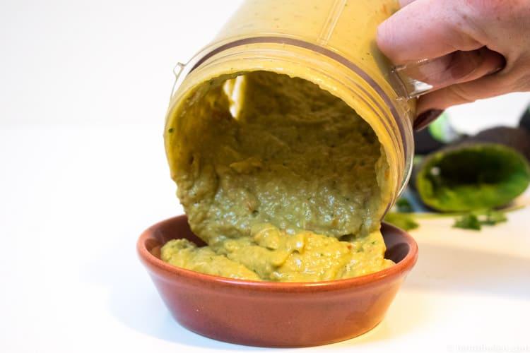Smooth nutribullet guacamole recipe