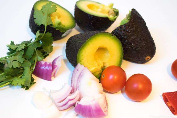 Smooth nutribullet guacamole ingredients
