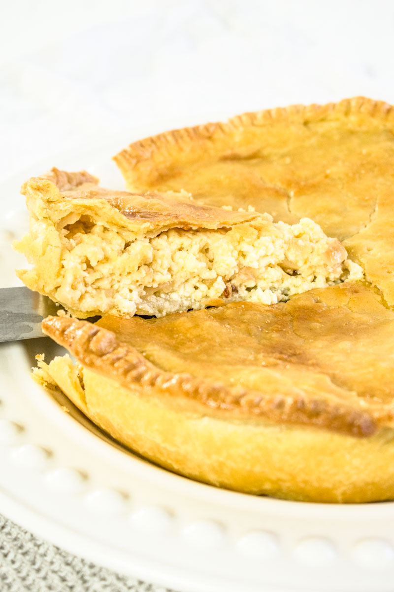 Lancashire Cheese and Onion Pie Recipe