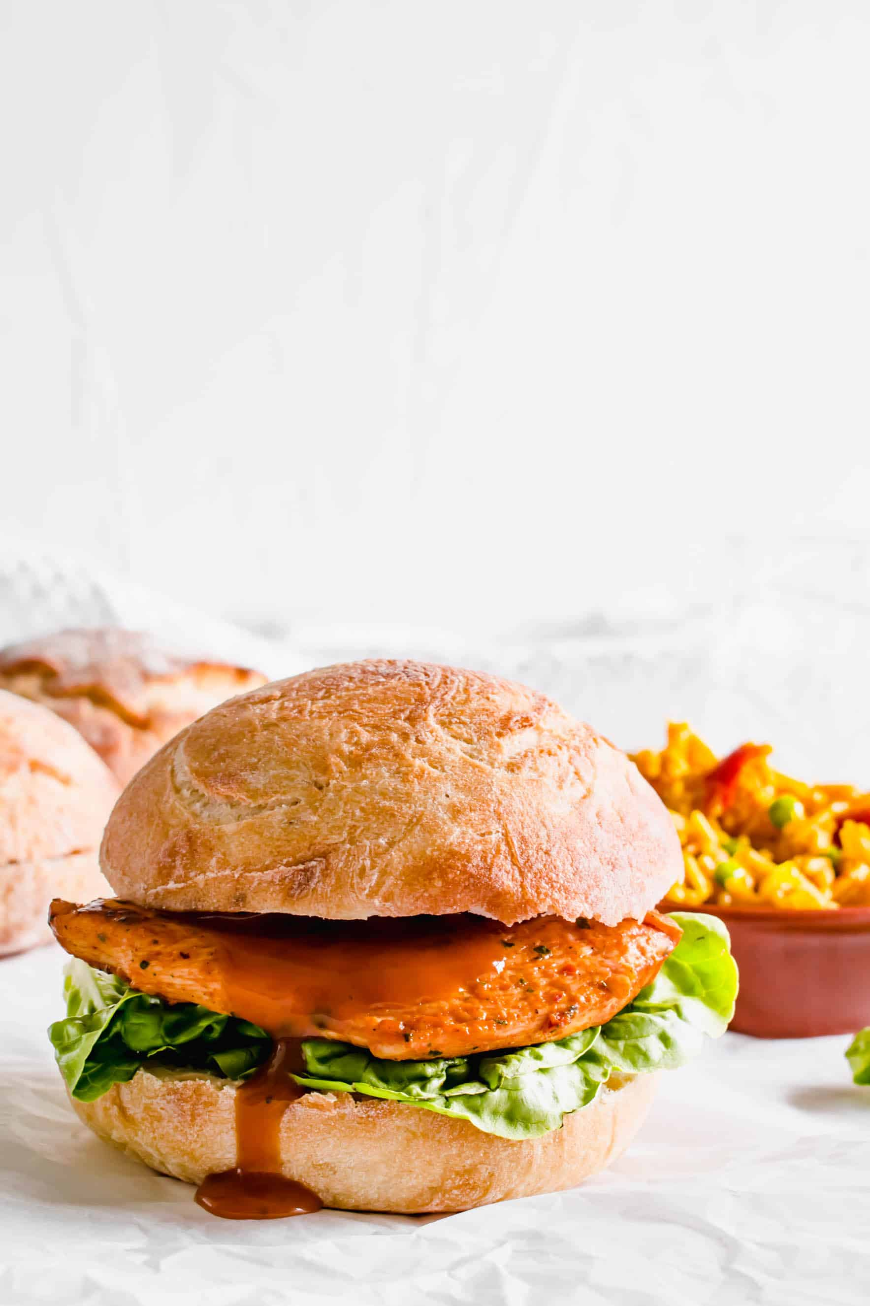 Nandos Chicken Burger Recipe