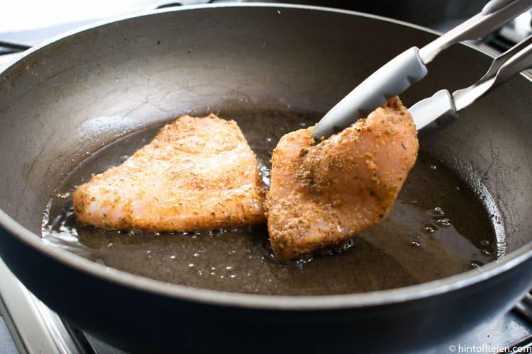 Nandos chicken burger recipe   Hint of Helen