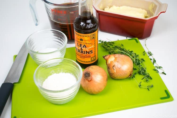 onion gravy ingredients