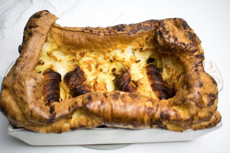 Pigs in Blanket Toad in the Hole