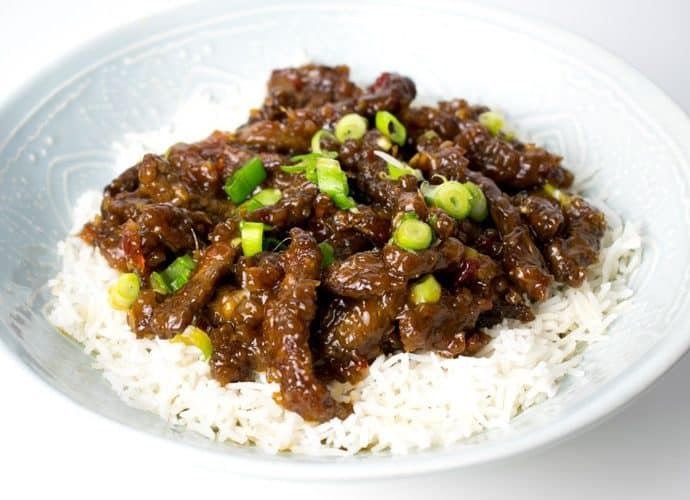 Crispy Shredded Chilli Beef