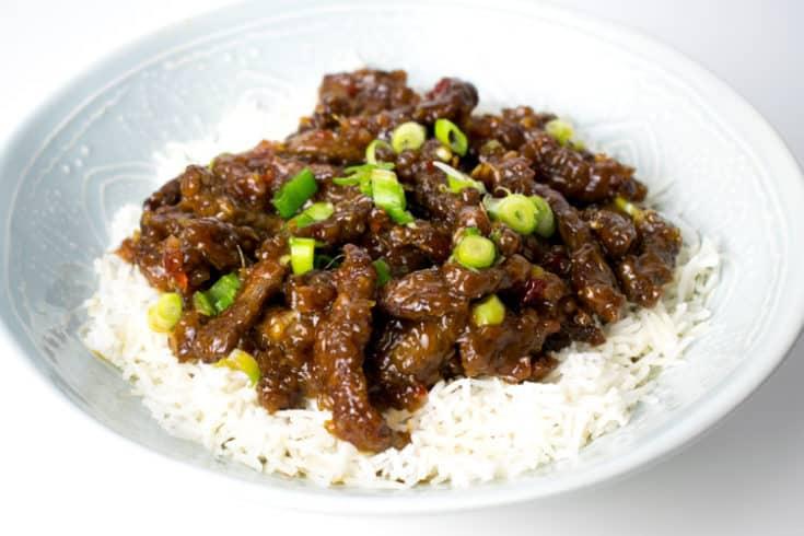 Crispy Shredded Chilli Beef | Hint of Helen