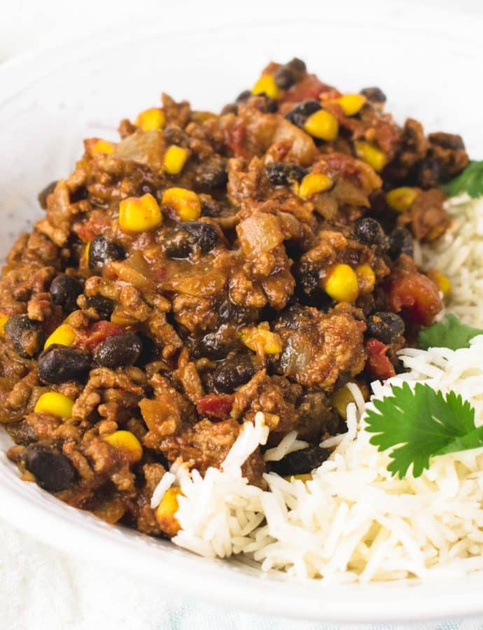 Quick Chilli Con Carne Recipe