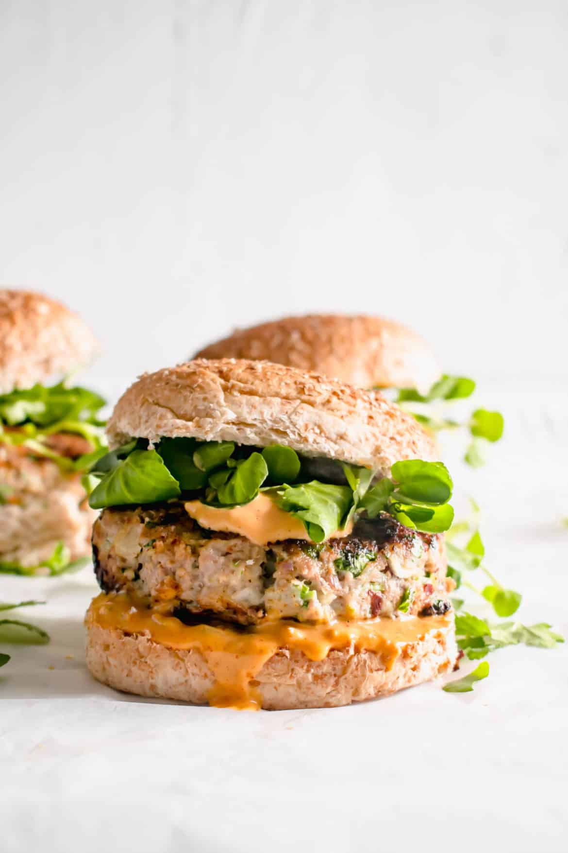 Healthy turkey burgers