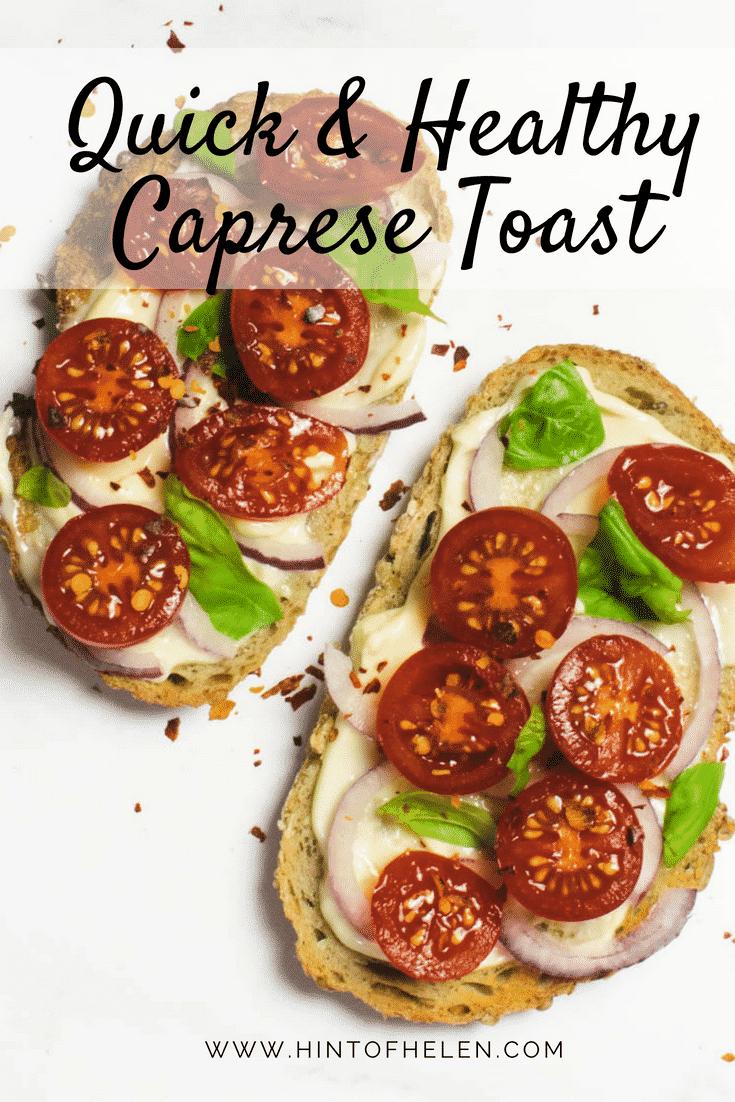 Caprese Toast Recipe