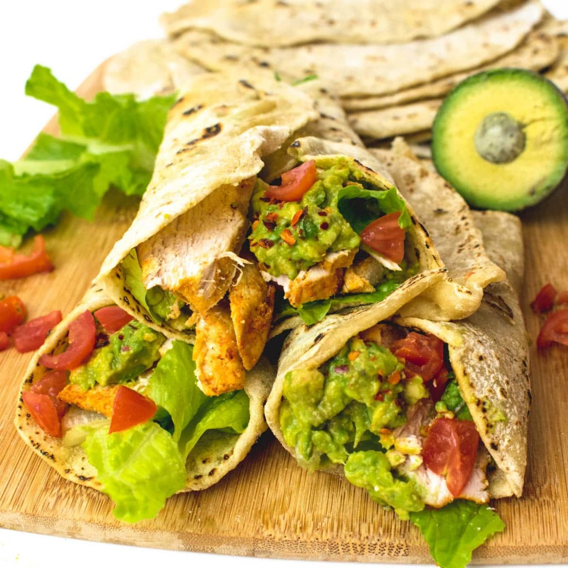 Chicken Avocado Wraps Recipe