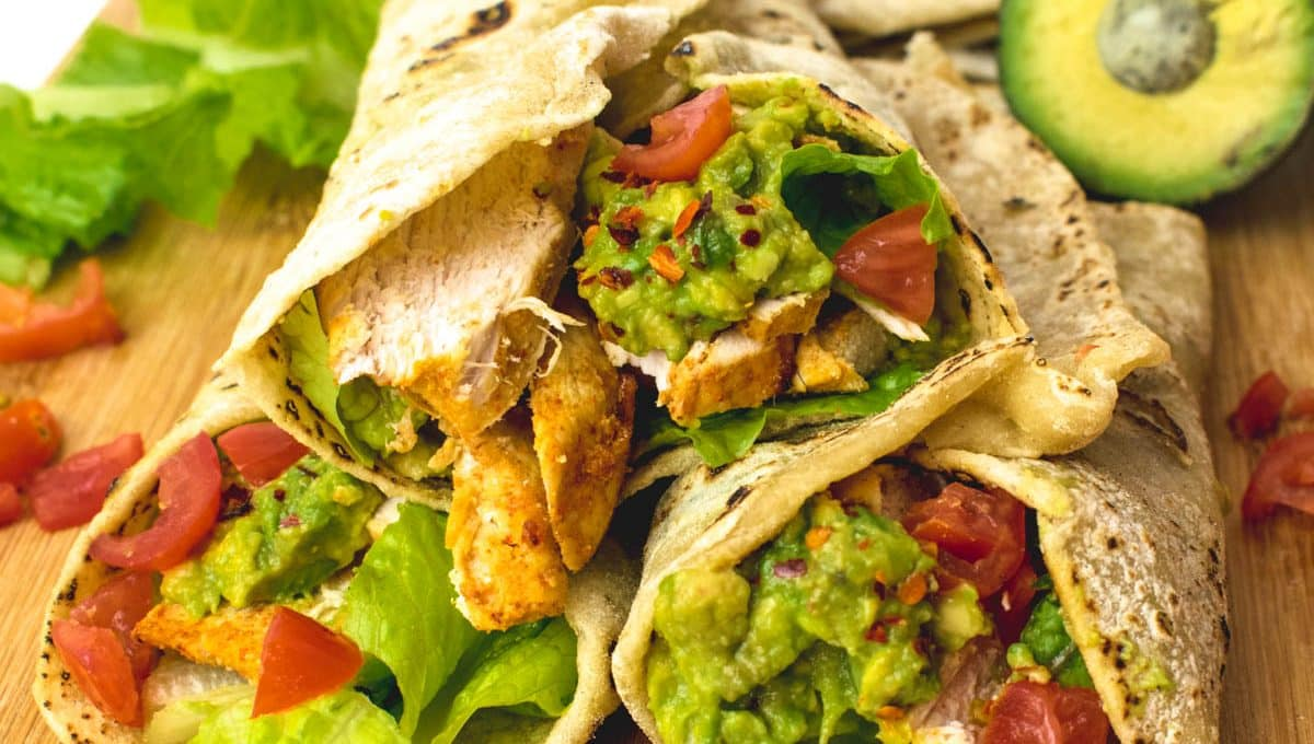 Chicken & Avocado Wraps