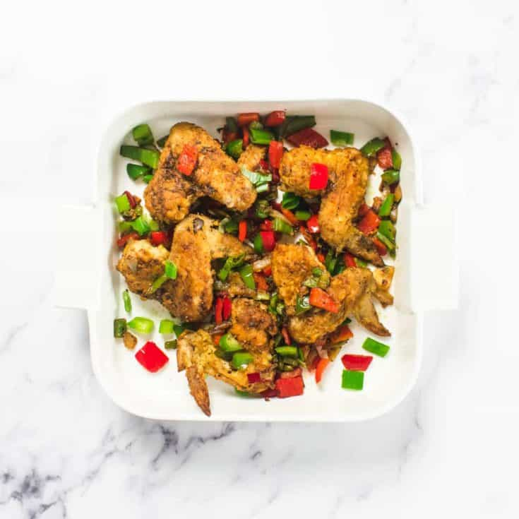 Salt And Pepper Chicken Wings Recipe