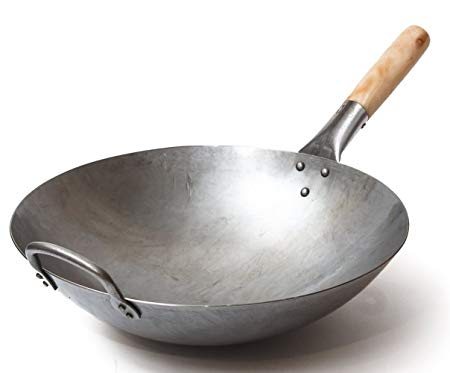 Traditional Hand Hammered Wok