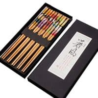 Decorated Chopstick Set