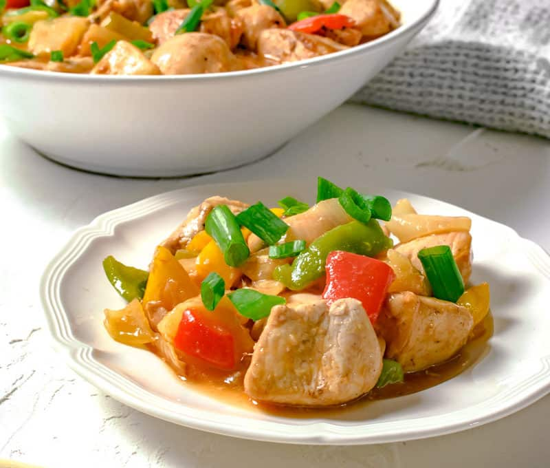 Actifry Sweet & Sour Chicken