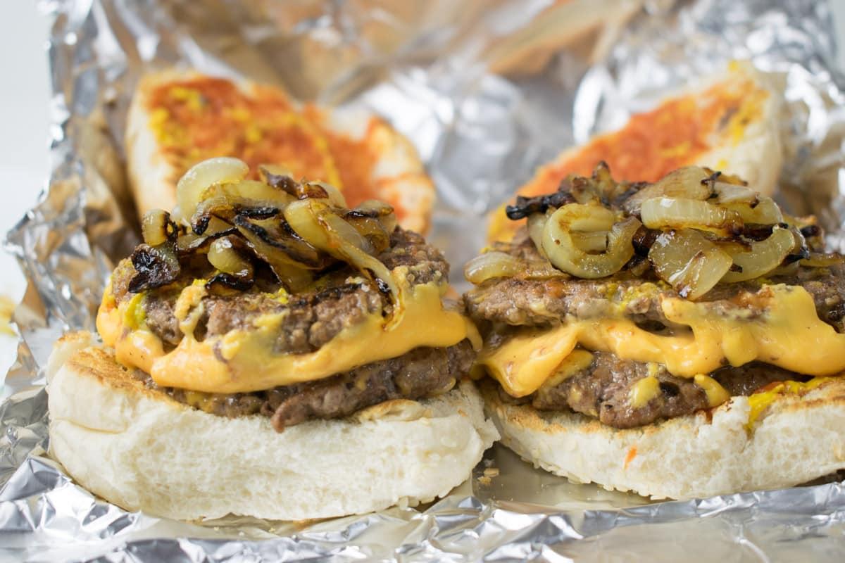 Five Guys Cheese Burger Recipe