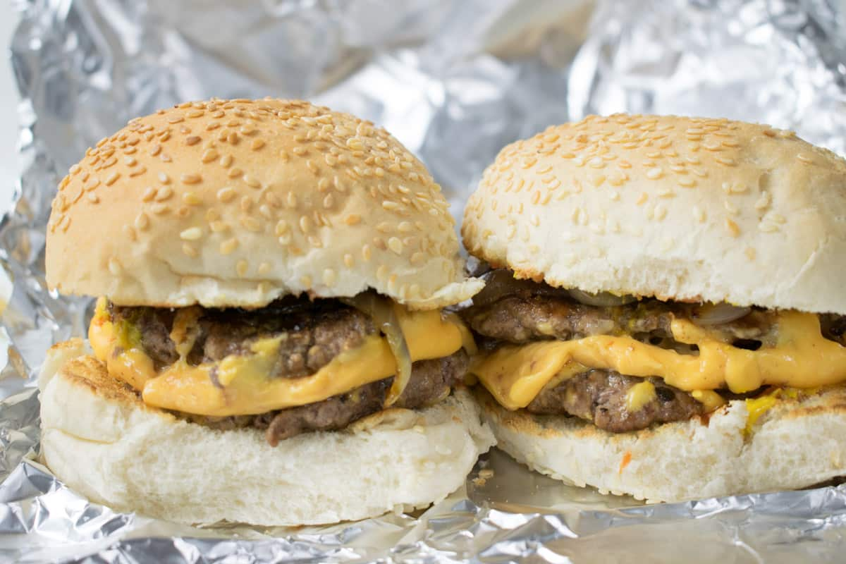 Five Guys Cheese Burger Recipe