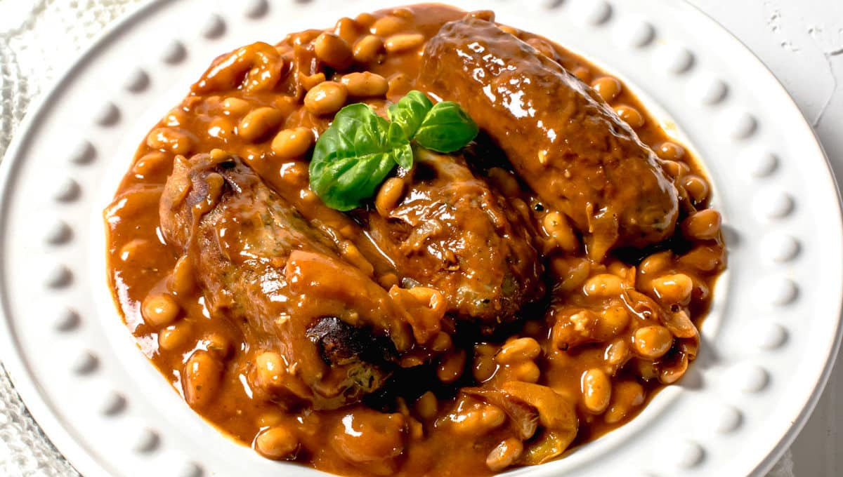 Actifry Sausage Casserole
