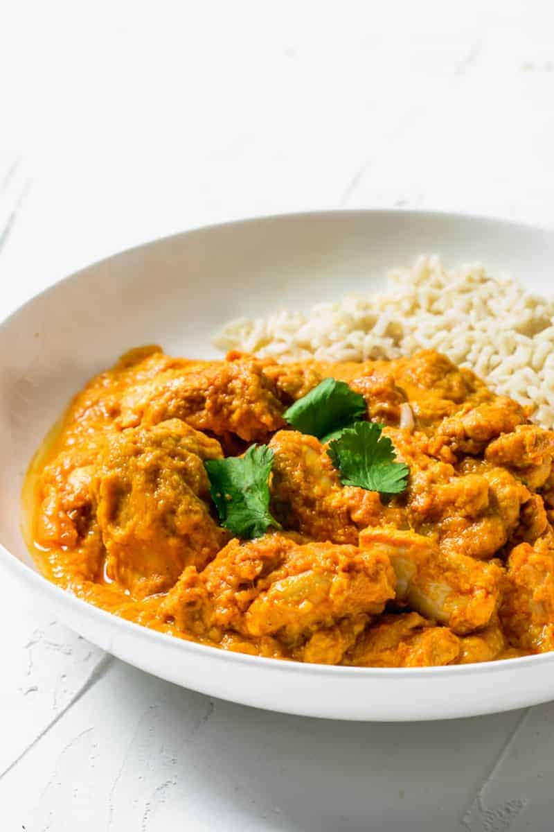 Slow Cooker Chicken Tikka Masala Curry