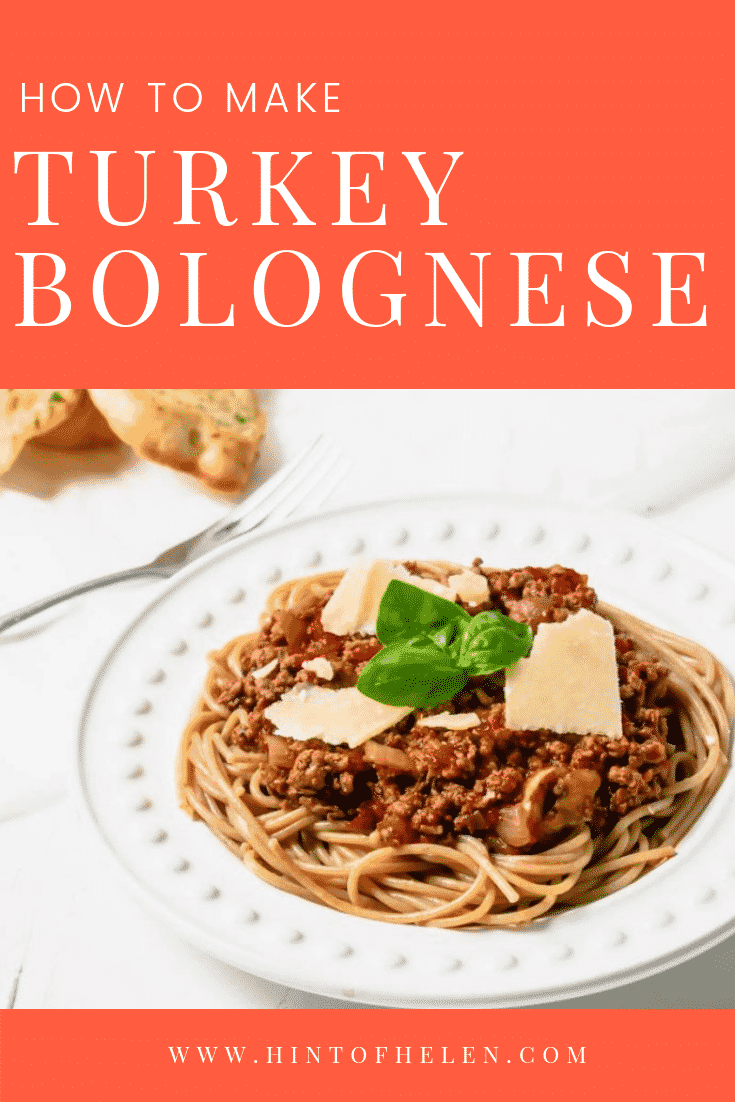 Turkey Bolognese Pinterest