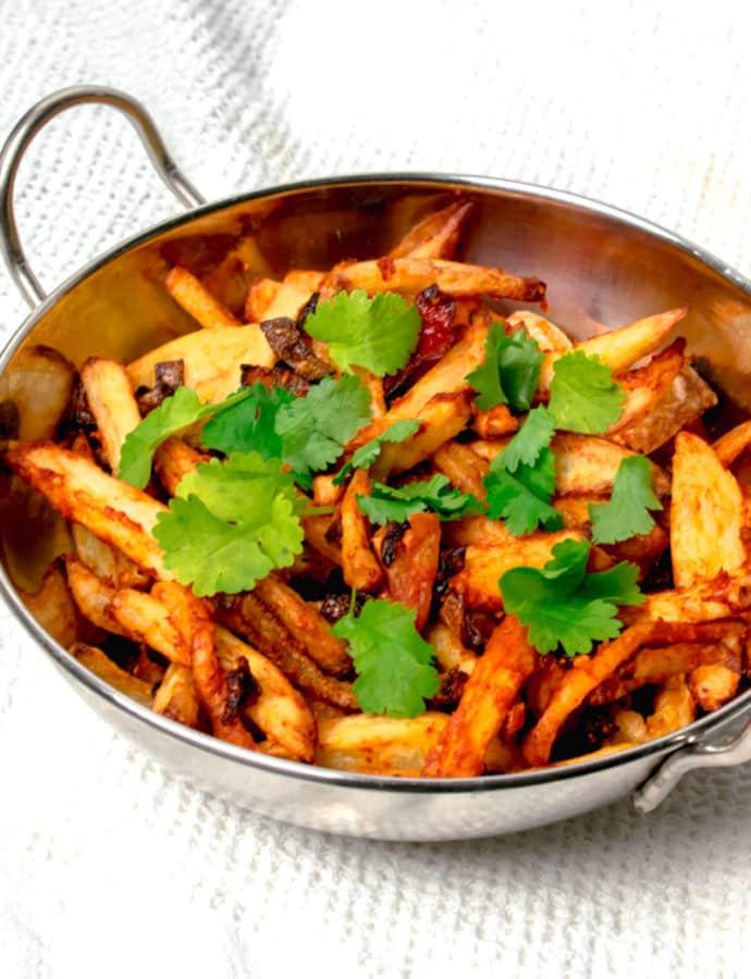 Actifry Masala Chips