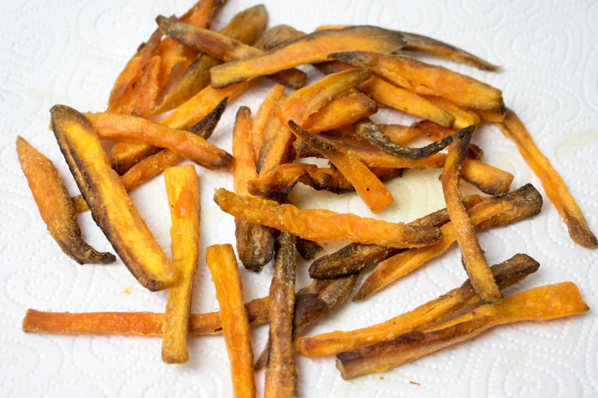 How To Make Sweet Potato Fries In An Actifry Hint Of Helen