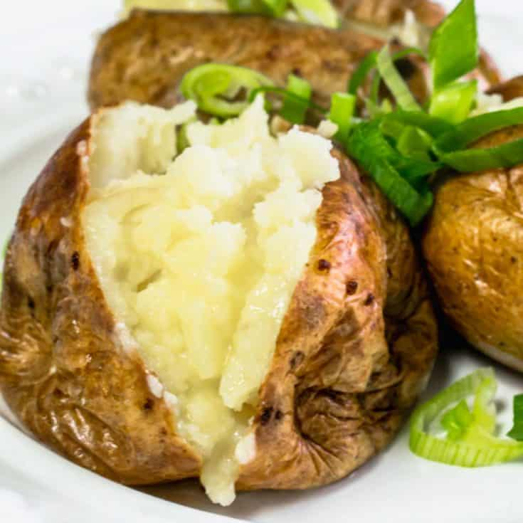 Actifry Jacket Potatoes (Baked Potatoes)