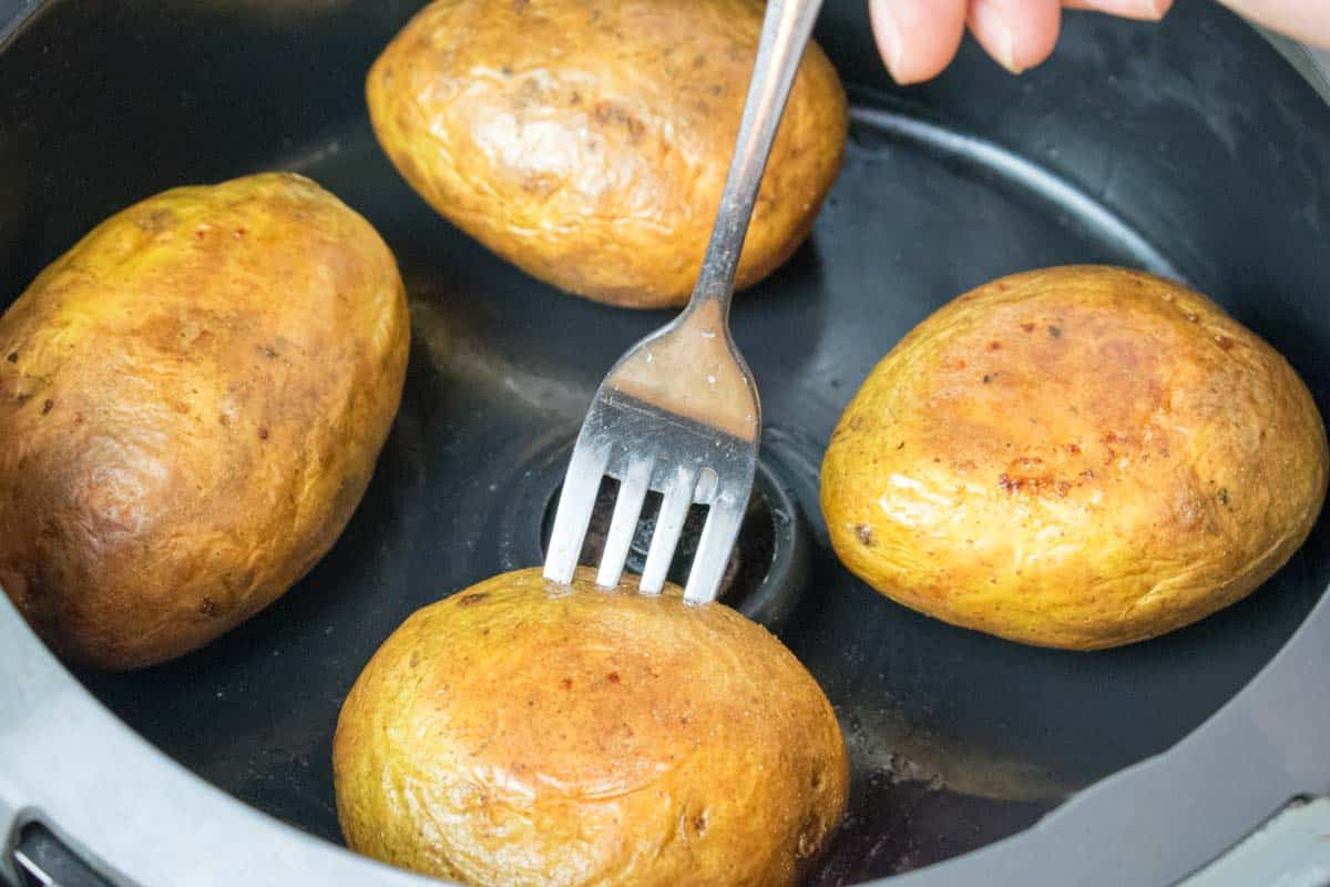 Actifry Jacket Potato Baked