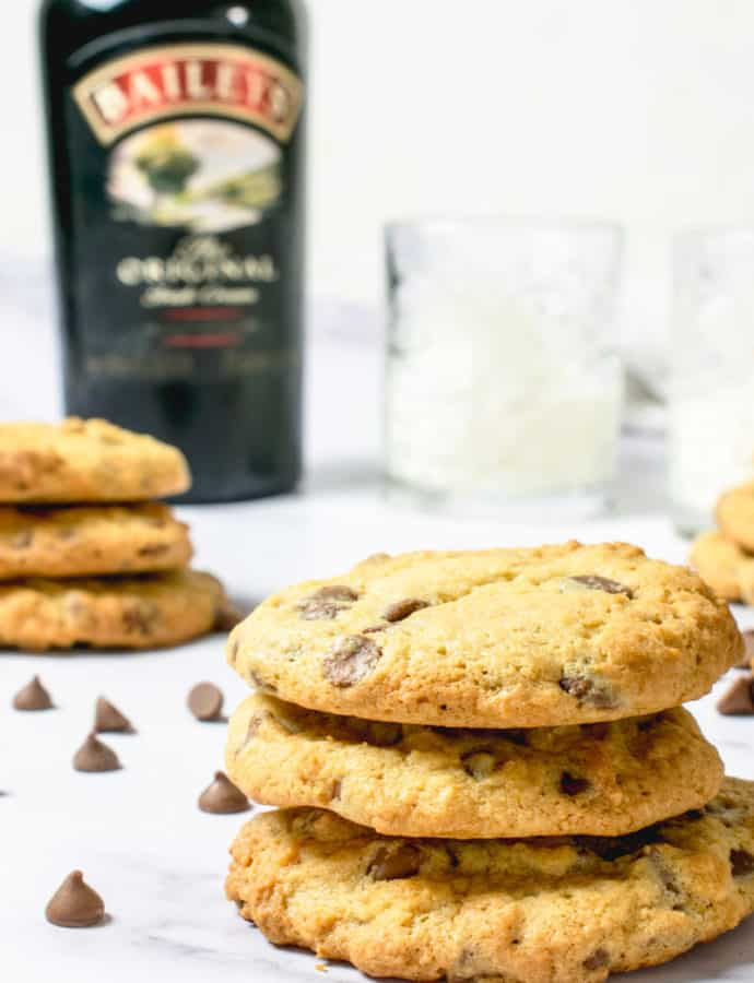 Baileys Cookies With Chocolate Chips