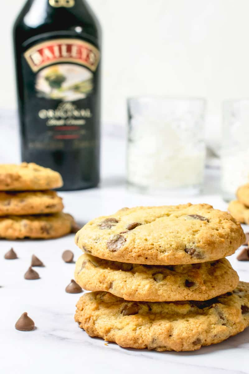 Baileys cookies Recipe Chocolate Chip | Hint of Helen-4