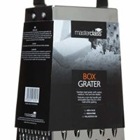 MasterClass Non-Slip Stainless Steel Box Grater with Handle