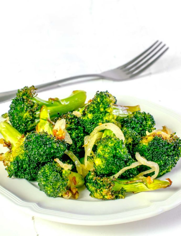 Actifry Garlic Broccoli