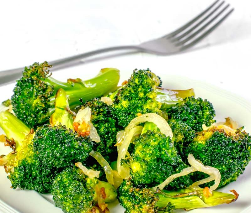 Actifry Garlic Broccoli