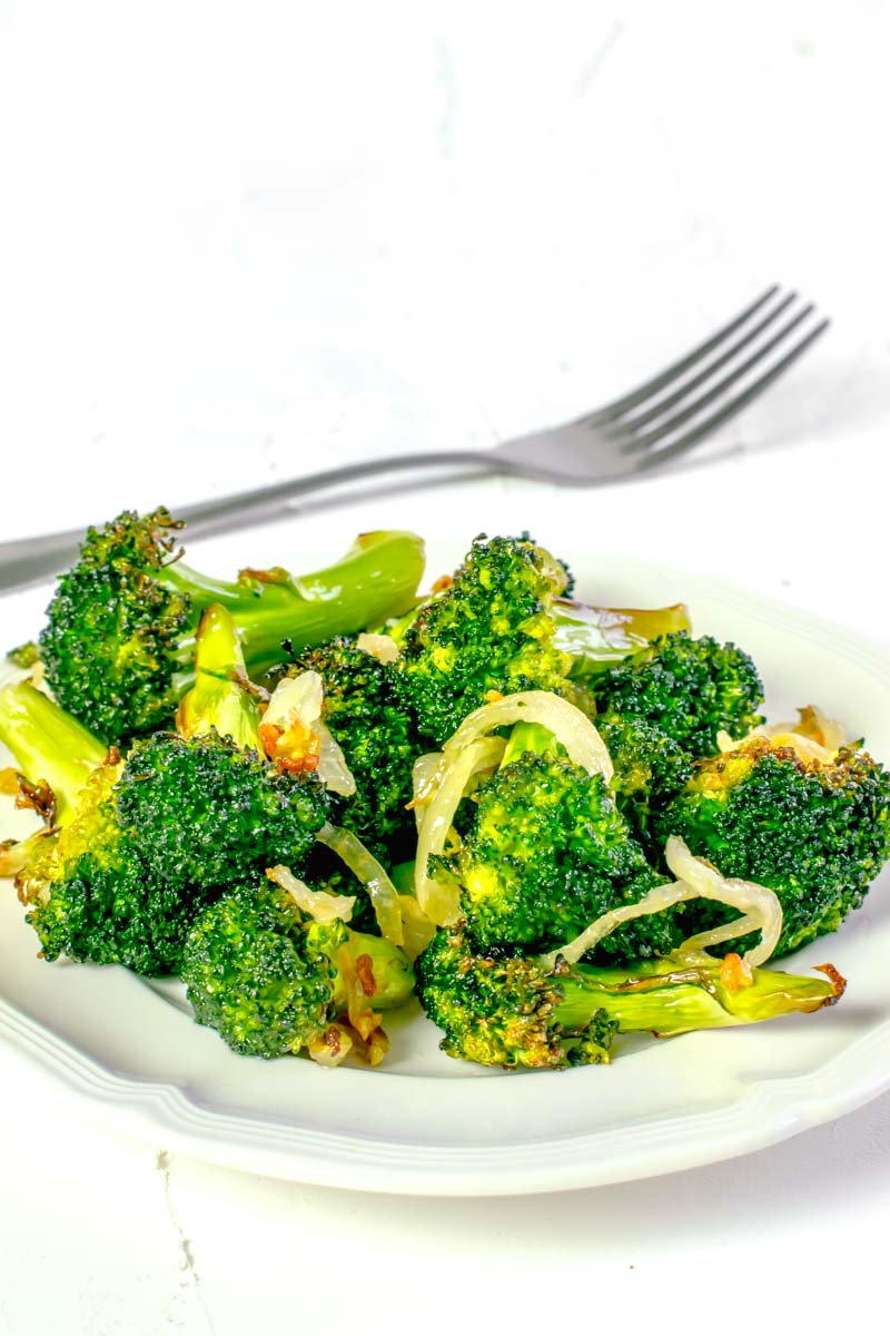 Actifry Brocolli Recipe Garlic | Hint Of Helen