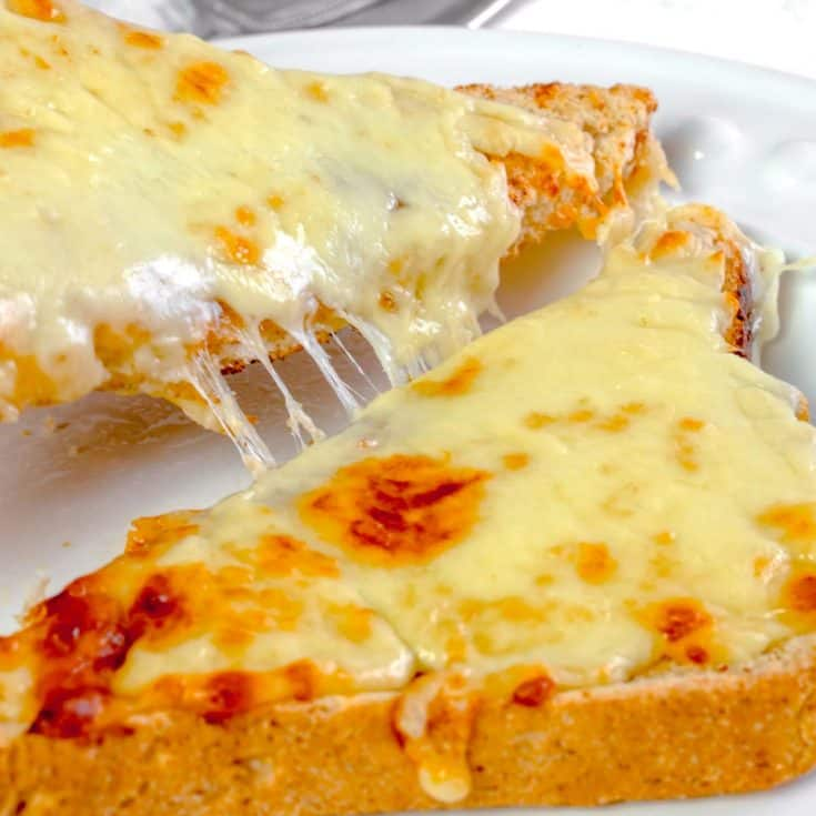 Actifry Cheese on Toast