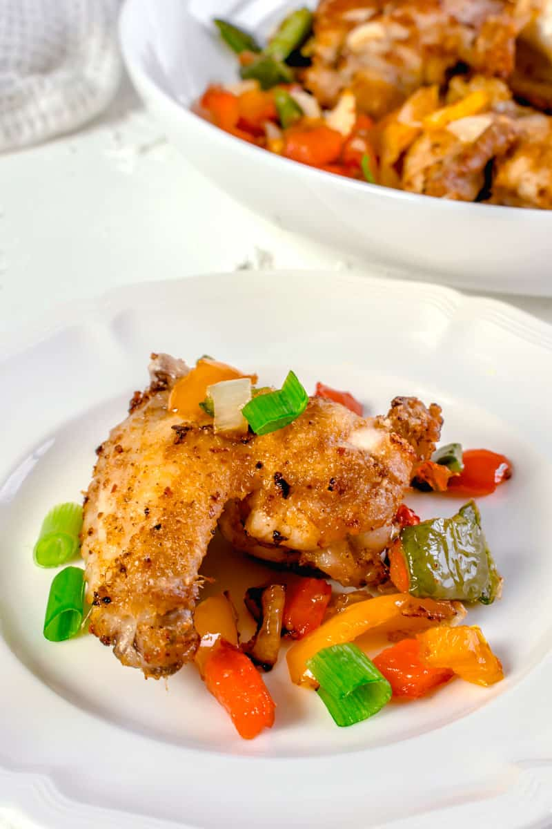 Actifry Salt and Pepper Chicken Wings