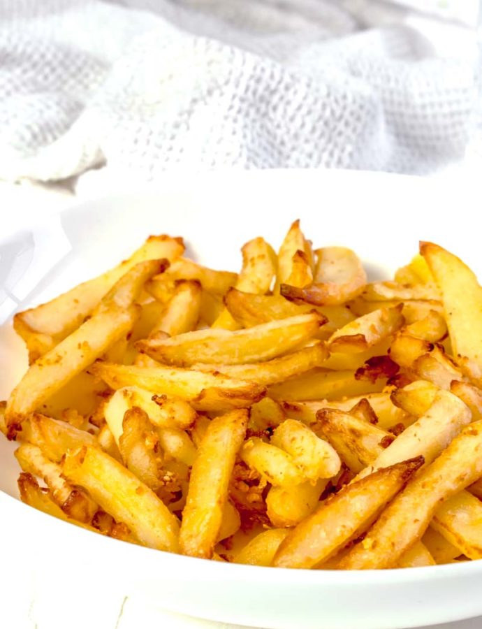 Actifry Garlic Fries
