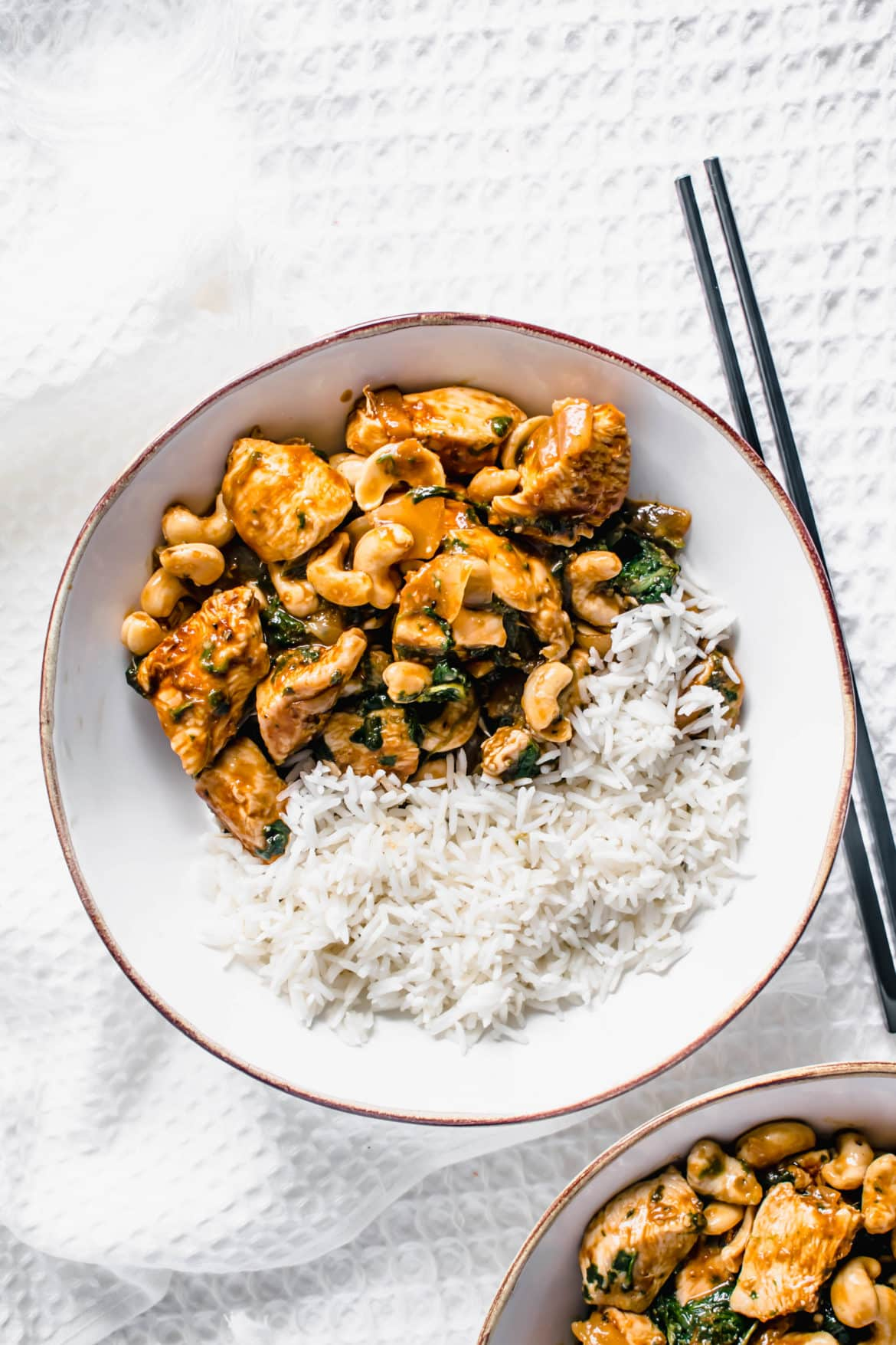Healthy Cashew Chicken Recipe