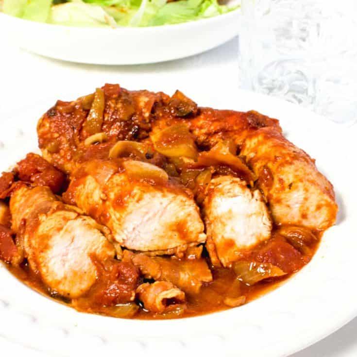 Healthier BBQ Chicken Recipe   Hint Of Helen