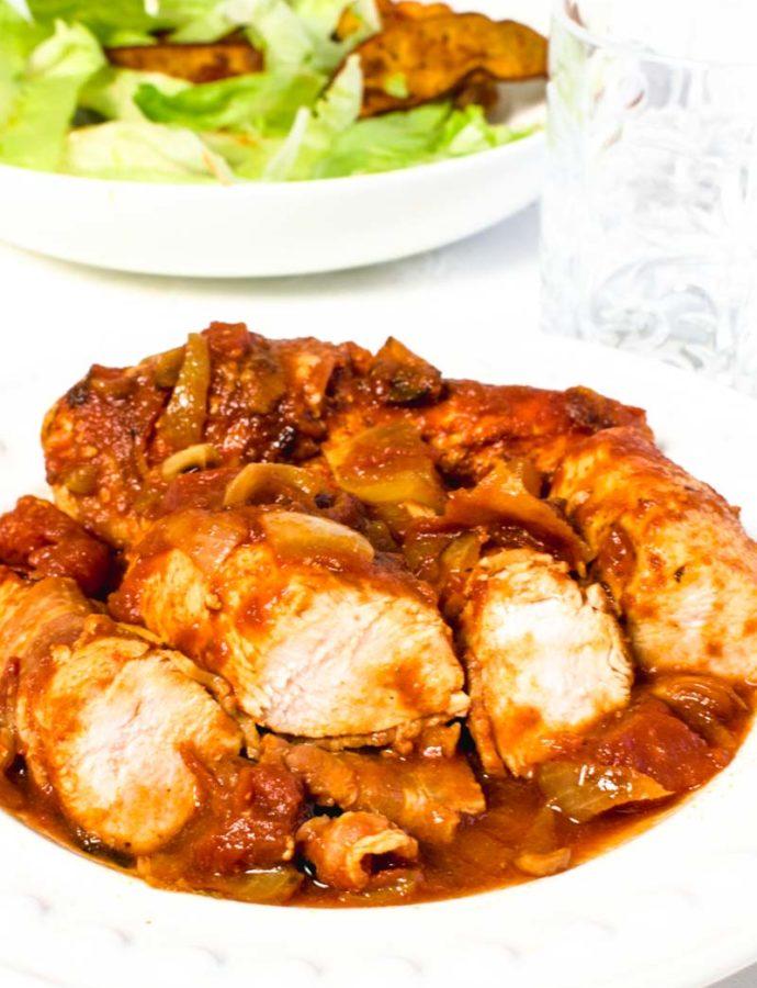 Healthier BBQ Chicken