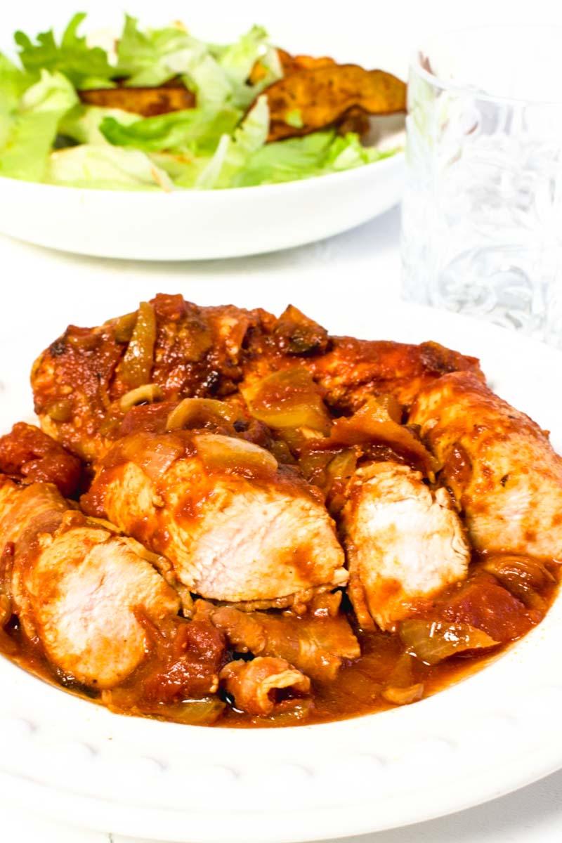 Healthier BBQ Chicken Recipe | Hint Of Helen