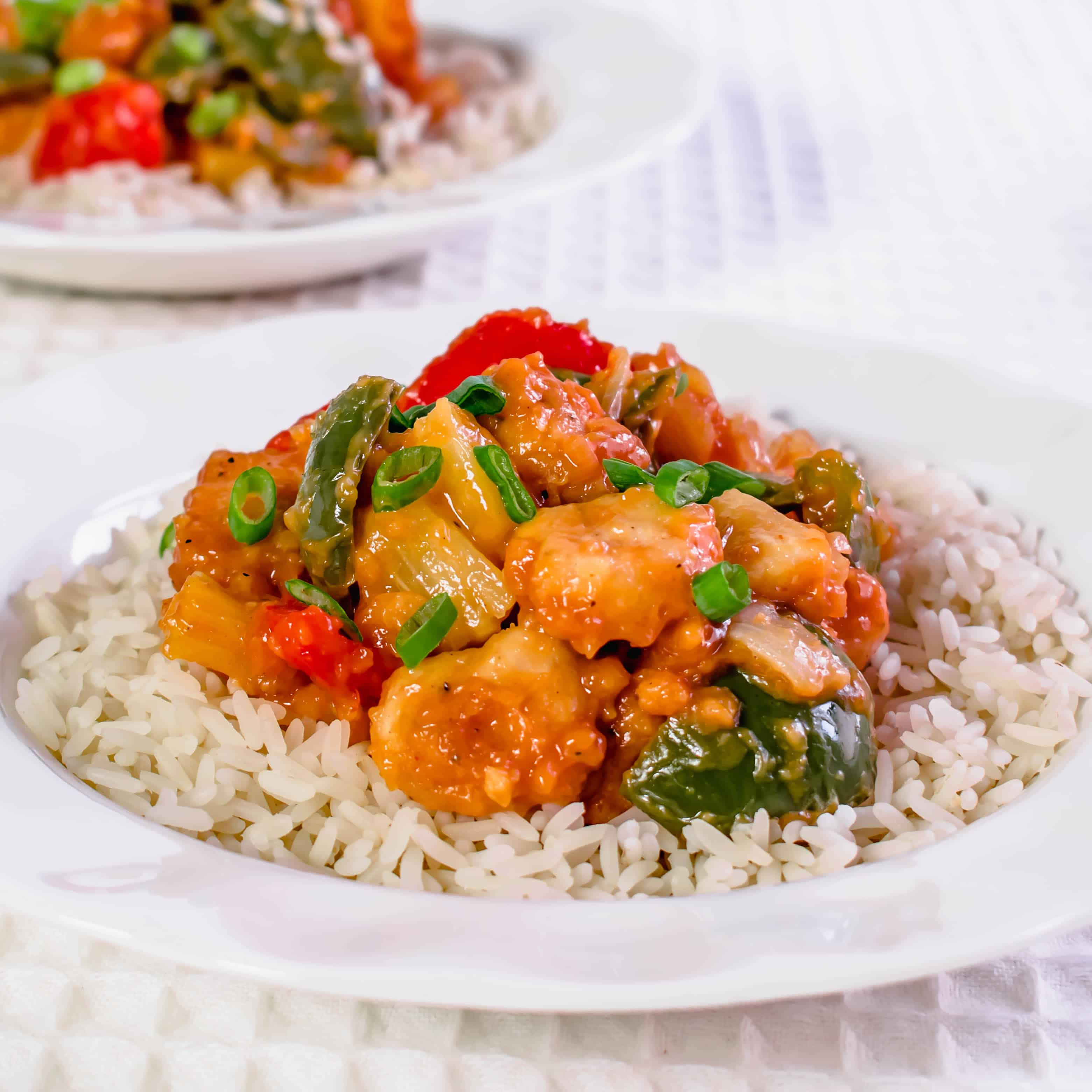 Sweet sour Chicken Actifry