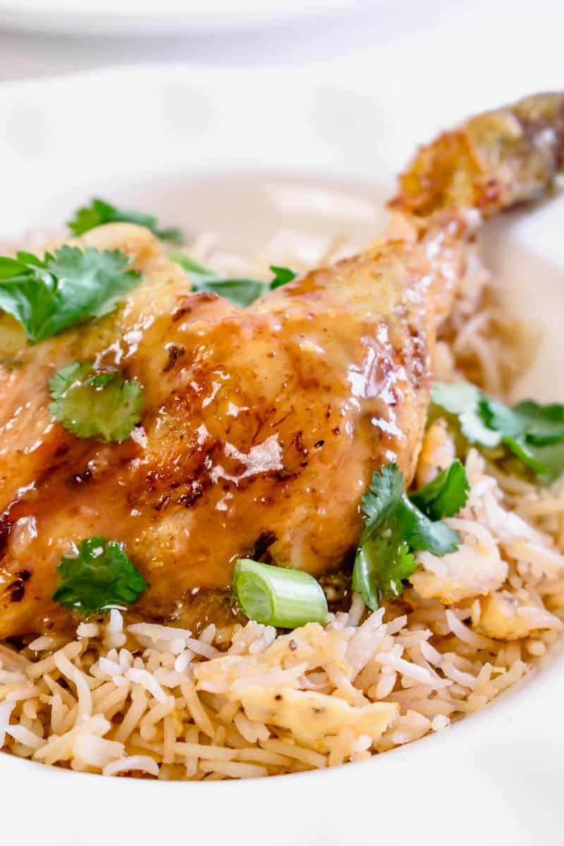 Chinese Curry Roast Chicken Recipe